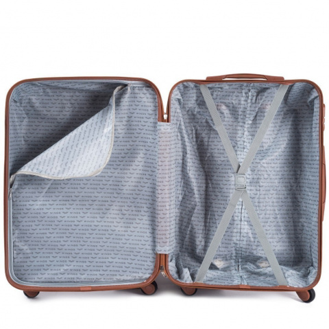402, Luggage 4 sets (L,M,S,XS) Wings, Dark grey