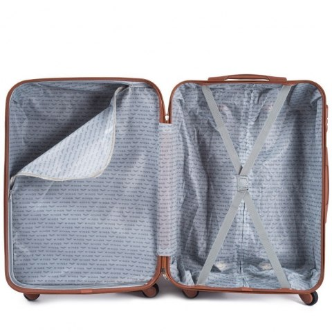 402, Luggage 4 sets (L,M,S,XS) Wings, Champagne