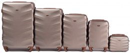 402, Luggage 5 sets (L,M,S,XS,BC) Wings, Champagne