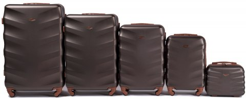 402, Luggage 5 sets (L,M,S,XS,BC) Wings, Coffee