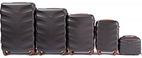 402, Luggage 5 sets (L,M,S,XS,BC) Wings, Dark grey