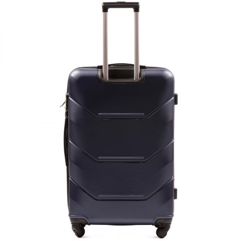 147, Large travel suitcase Wings L, Blue