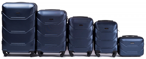 147, Luggage 5 sets (L,M,S,XS,BC) Wings, Blue