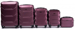 147, Luggage 5 sets (L,M,S,XS,BC) Wings, Wine red
