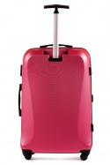 518, Large travel suitcase Wings L, Rose red