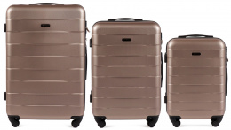 401, Luggage 3 sets (L,M,S) Wings, Champagne