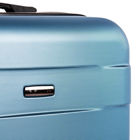 401, Luggage 4 sets (L,M,S,XS) Wings, Silver blue