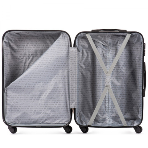 401, Luggage 3 sets (L,M,S) Wings, Black