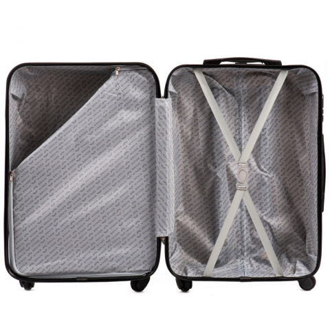 AT01, Luggage 4 sets (L,M,S,XS) Wings, Silver blue