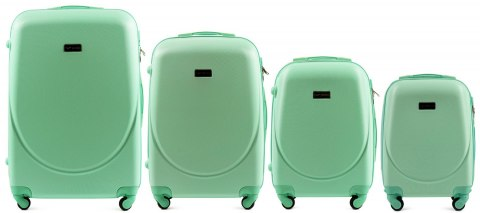 K310, Luggage 4 sets (L,M,S,XS) Wings, Light green