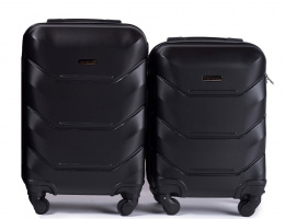 147, Luggage 2 sets (S,XS) Wings, Black