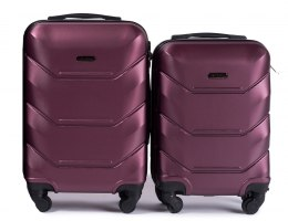 147, Luggage 2 sets (S,XS) Wings, Burgundy