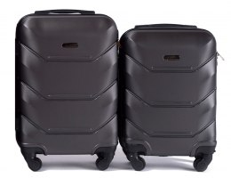 147, Luggage 2 sets (S,XS) Wings, Dark grey