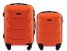 147, Luggage 2 sets (S,XS) Wings, Orange