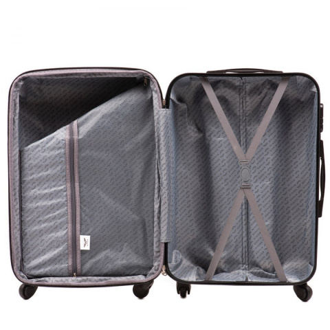 147, Luggage 4 sets (L,M,S,XS) Wings, Silver blue
