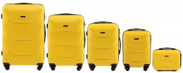 147, Luggage 5 sets (L,M,S,XS,BC) Wings, Yellow