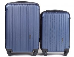 2011, Luggage 2 sets (S,XS) Wings, Blue