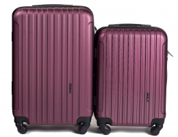 2011, Luggage 2 sets (S,XS) Wings, Burgundy