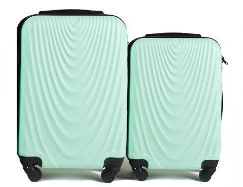 304, Luggage 2 sets (S,XS) Wings, Light green
