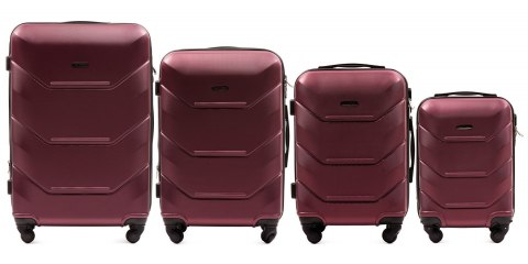 147, Luggage 4 sets (L,M,S,XS) Wings, Burgundy