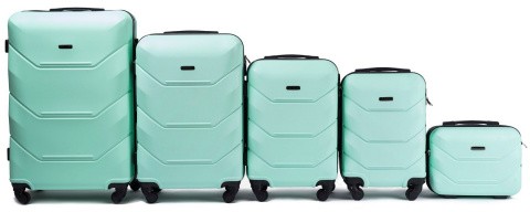 147, Luggage 5 sets (L,M,S,XS,BC) Wings, Light green