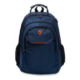 BP124-18, Travel backpack Wings, Blue