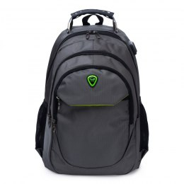 BP124-18, Travel backpack Wings, Grey