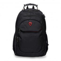 BP124-18, Travel backpack Wings, Black