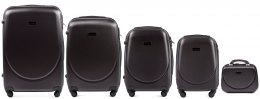 K310, Luggage 5 sets (L,M,S,XS) Wings, Dark grey