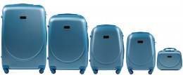 K310, Luggage 5 sets (L,M,S,XS) Wings, Silver blue