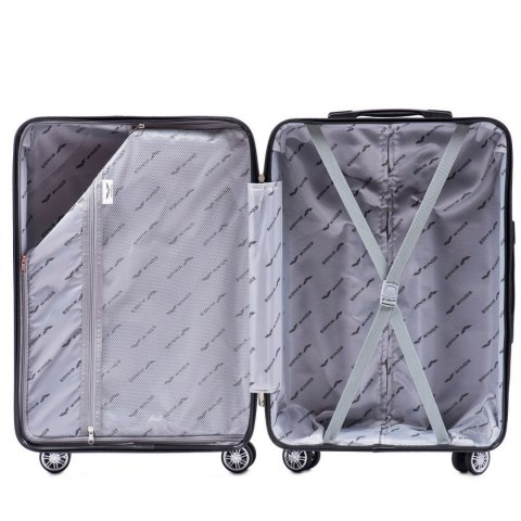 PP05, Luggage 3 sets (L,M,S) Wings, Black