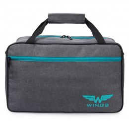 TB01, Shoulder bag Wings, Grey