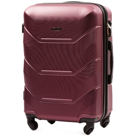 147, Middle size suitcase Wings M, Burgundy