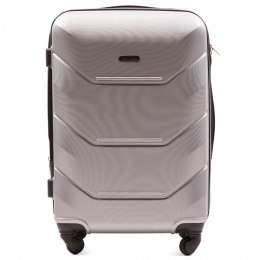 147, Middle size suitcase Wings M, Silver