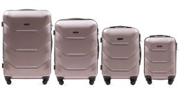 147, Luggage 4 sets (L,M,S,XS) Wings, Rose gold