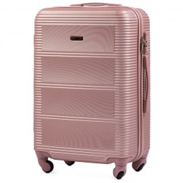 203, Large travel suitcase Wings L, Rose gold