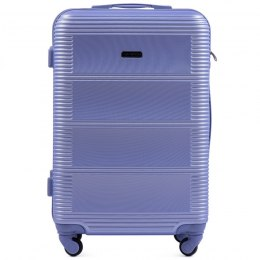 203, Large travel suitcase Wings L, Light purple