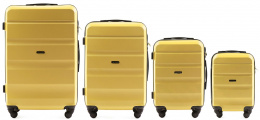 AT01, Luggage 4 sets (L,M,S,XS) Wings, Yellow