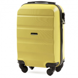 AT01, Small cabin suitcase Wings XS, Yellow