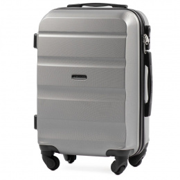 AT01, Cabin suitcase Wings S, Silver