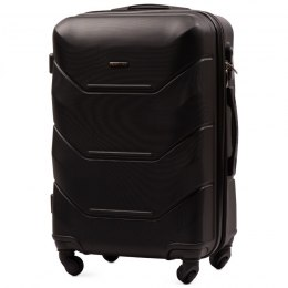 147, Middle size suitcase Wings M, Black