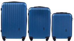 2011, Luggage 3 sets (L,M,S) Wings, Middle blue