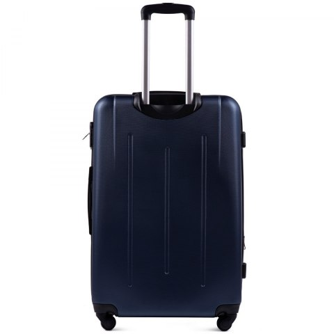 304, Large travel suitcase Wings L, Blue