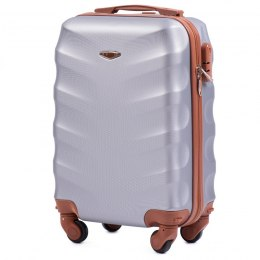 402, Small cabin suitcase Wings XS, Silver white