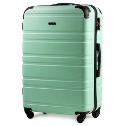 608, Large travel suitcase Wings L, Light green