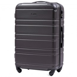 608, Large travel suitcase Wings L, Dark grey