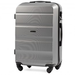 AT01, Small cabin suitcase Wings XS, Silver