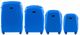 K310, Luggage 4 sets (L,M,S,XS) Wings, Middle blue
