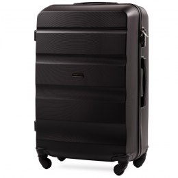 AT01, Large travel suitcase Wings L, Black