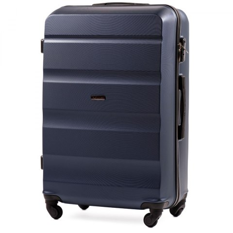 AT01, Large travel suitcase Wings L, Dark blue